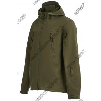 Мужская куртка Софтшел (хаки)